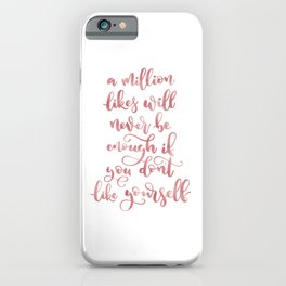 A Million Likes | Rose Gold Palette iPhone Case
