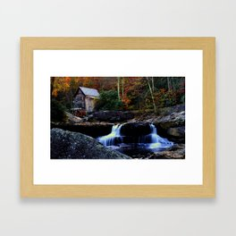 Old Grist Mill Framed Art Print