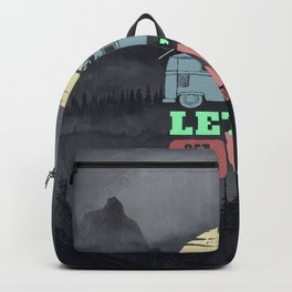 Lets Ride Backpack