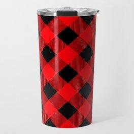 Buffalo Plaid Scottish Lumberjack Travel Mug