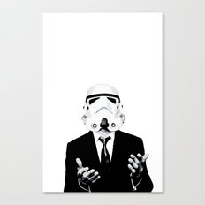 GQ Trooper Canvas Print