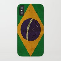 brasil iPhone & iPod Cases featuring Brasil by NicoWriter