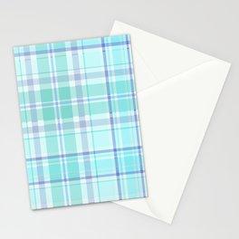 Pastel Plaid Stationery Cards
