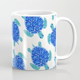 Sea Turtle – Blue Palette Coffee Mug