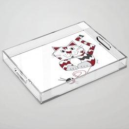 Angus Knits Acrylic Tray