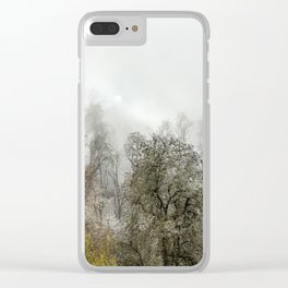 Winter Spell Clear iPhone Case