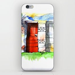 One Of Two Doors iPhone Skin