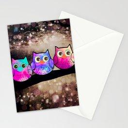owl-432 Stationery Cards
