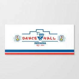 Tippy Dance Hall Canvas Print