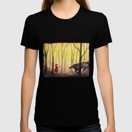 Flower for a Wolf T-shirt