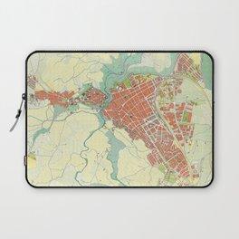 Ronda city map classic Laptop Sleeve
