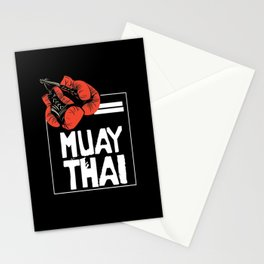 When Muay Thai Is Your Life Stationery Cards