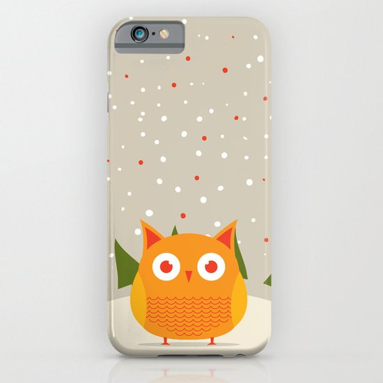 Cute owl iPhone & iPod Case
