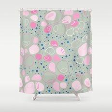 BP 22 Pebbles Shower Curtain