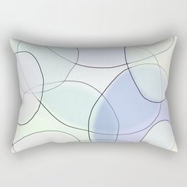 BE FLEXIBLE, STAY COLORFUL Rectangular Pillow