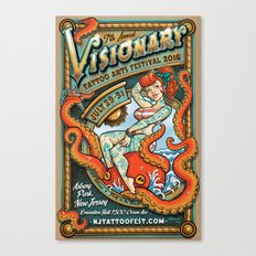 Visionary Tattoo Arts Festival 2016 Canvas Print