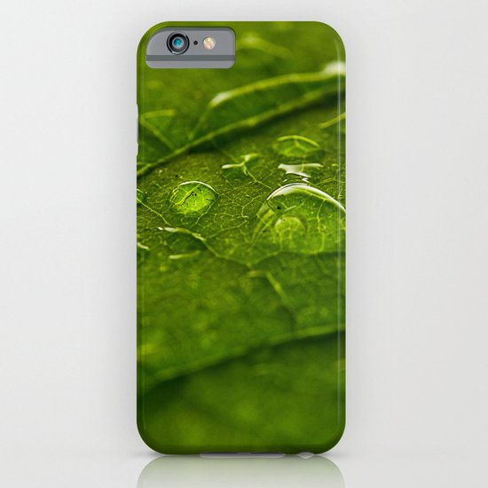 Green Bubbles 2 iPhone & iPod Case