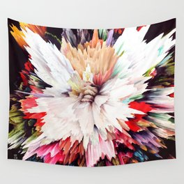 Floral Explosion Wall Tapestry