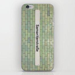 Berlin U-Bahn Memories - Samariterstraße iPhone Skin