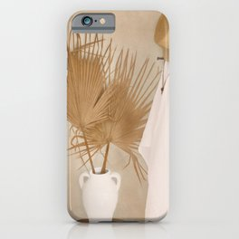 Palm Leaf Decoration iPhone Case