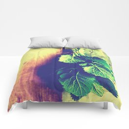 Lemon Balm interior Comforters