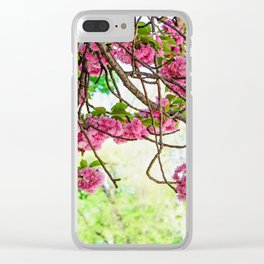 Fresh Blossoms Clear iPhone Case