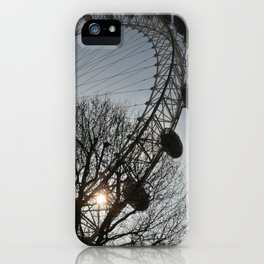 Staring Down the Sun iPhone Case
