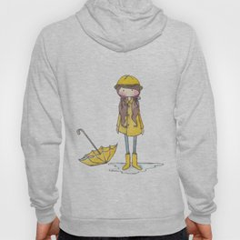 Time for Rain (white background) Hoody
