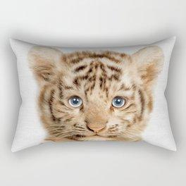 Baby Tiger Rectangular Pillow