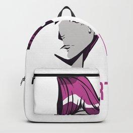 Heartless Anime Girl With Pink Hair Manga Cosplay Backpack