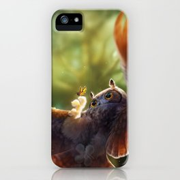 Caught in the moment iPhone Case