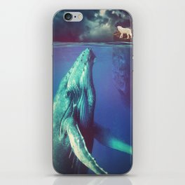 The Whale and the Wolf iPhone Skin