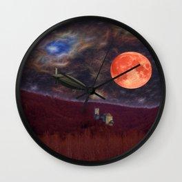 Nightflyer Wall Clock