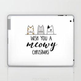 Meowy Christmas II Laptop & iPad Skin
