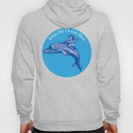 Keep the Ocean Blue_Dolphin_B Hoody