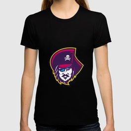 Privateer Pirate Head Mascot T-shirt