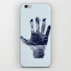 High five world iPhone & iPod Skin