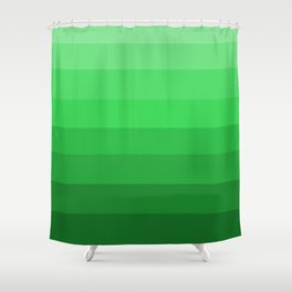 Shades of Grass Green - Color Therapy Shower Curtain