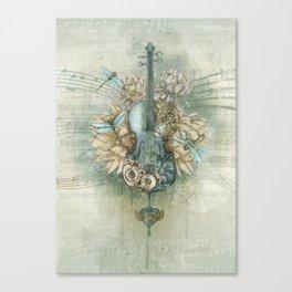 Analog Sound Canvas Print