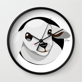 Bubu The Little Lamb Wall Clock