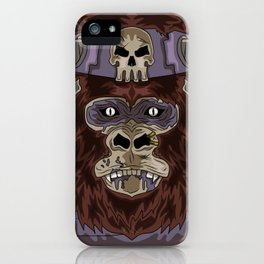 Assassin Monkey iPhone Case