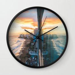 Good Morning San Juan Wall Clock