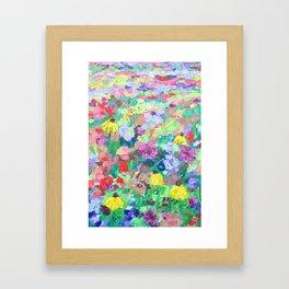 Texas Wildflowers Framed Art Print