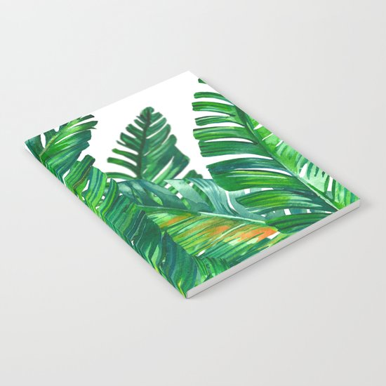 tropical green 2 Notebook