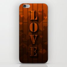 LOVE!  iPhone Skin