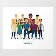 GreenDale Art Print