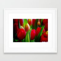 easter Framed Art Prints featuring Easter by Herzensdinge