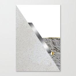 Light Stone Cubism Canvas Print