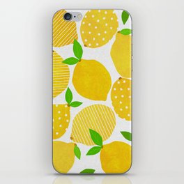 Lemon Crowd iPhone Skin
