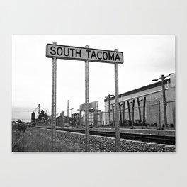 South Tacoma station Canvas Print